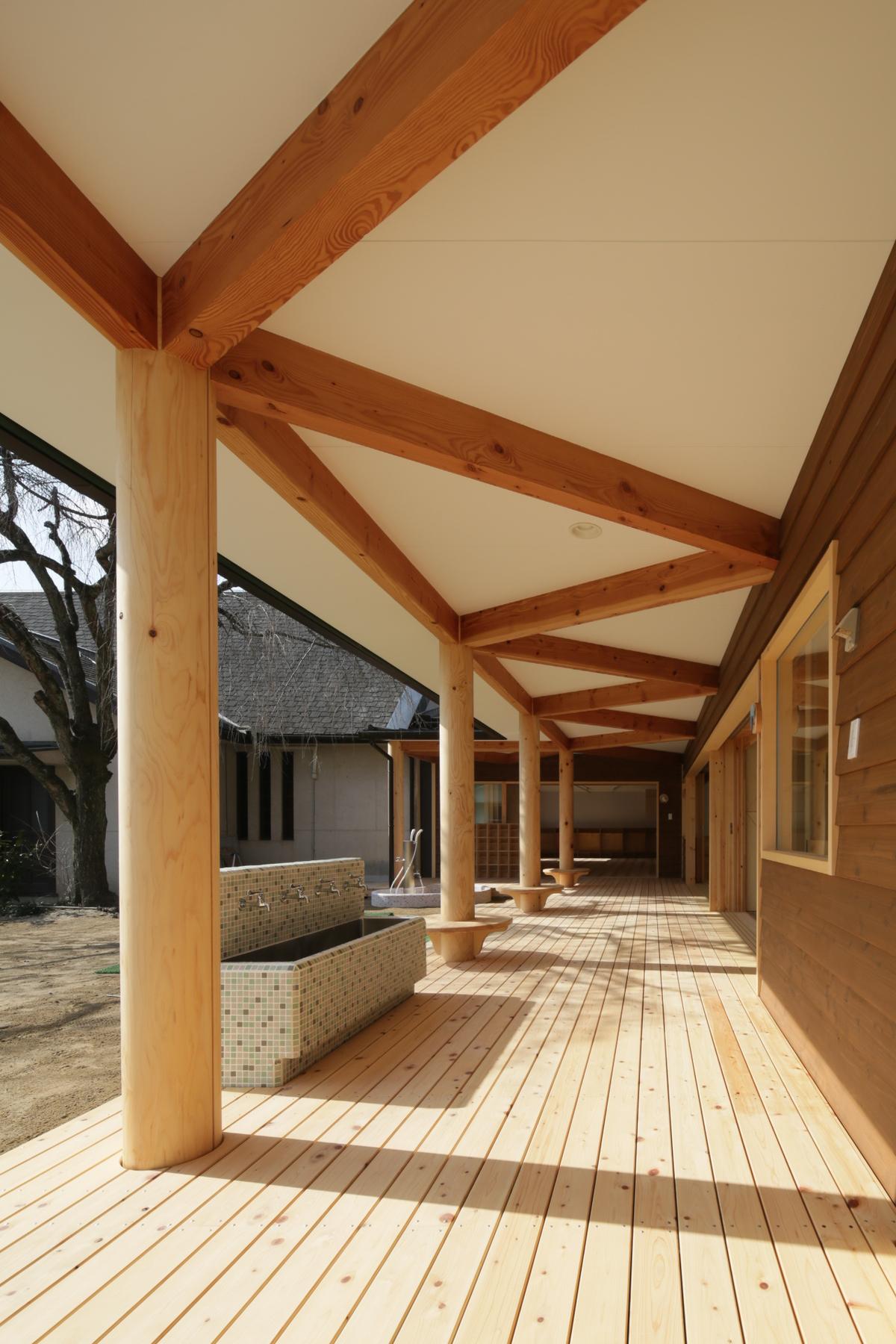 「京都市左京区 聖光幼稚園新築棟」 メイン画像