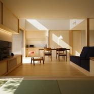 「空とつながる大屋根の家」サムネイル画像
